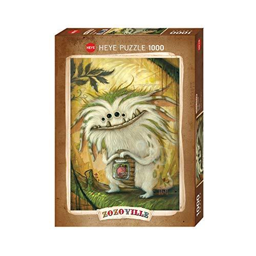 Heye Veggie Zozoville 1000 Teile Puzzle, Brown