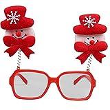 MäDchen Weihnachten Brillengestell Niedlich Kinder Erwachsene Ornamente Decor Abend Party Spielzeug...