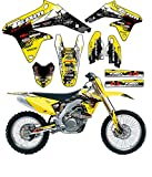 Team Racing Graphics kit compatible with Suzuki 2008-2017 RMZ 450, SCATTER