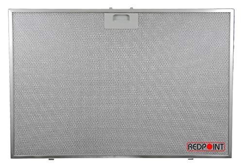 Redpoint® Filtre en aluminium pour hottes Elica 566 x 380 x 9 mm