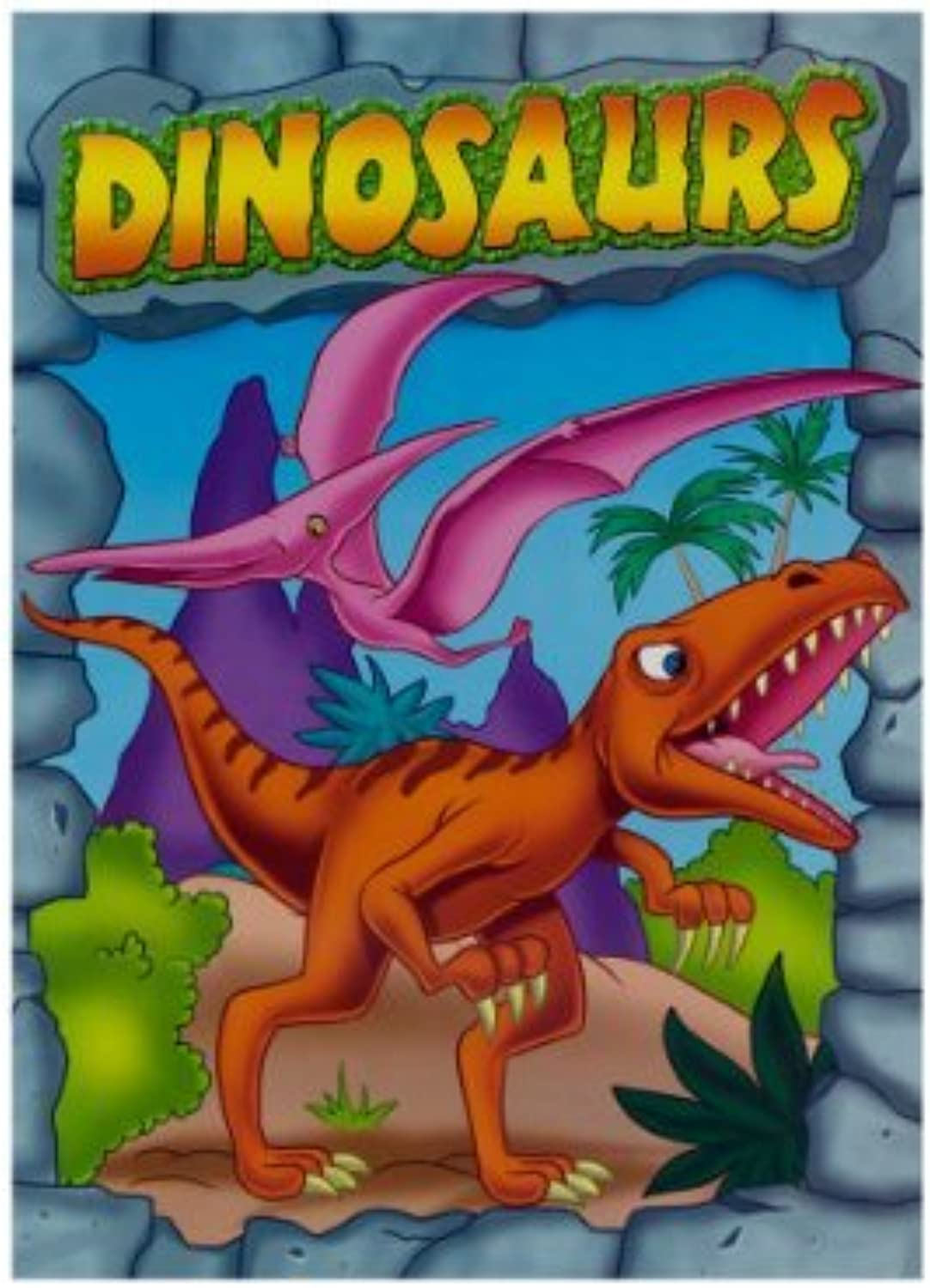DINOSAURS Farbeing & Activity Book by by by Bazic B017A2QFB8 | Hervorragende Eigenschaften  336559