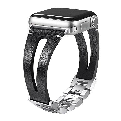 Secbolt Apple Watch Vintage Leather Wrist Band