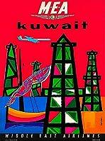 ERZAN1000ピース木製パズルクウェート中東航空会社減圧ジグソーおもちゃキッズギフト