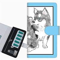 プルーム テック 専用 ケース 手帳型 ploom tech ケース 【YD891 シベリアンハスキー02】