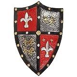Great Pretenders- Knight Shield ASCE da Battaglia, Colore (Blu), 14435
