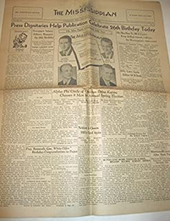 The Mississippian: University of Mississippi Newspaper, April 17, 1937