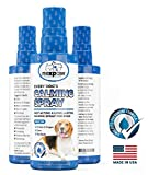 NEXPAW Calming Spray for Dogs - Helps to Relieve Stress from Separation Anxiety, Travel, Vet Visits, Fireworks, Boarding. Best for New Crates & Dog Beds, Cars and Kennels. Large 8oz Bottle.