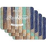 Venilia Home made BBQ 59094 Tovaglietta con motivo stampato, Bbq Californian Multicolor, Confezione da 4 pezzi