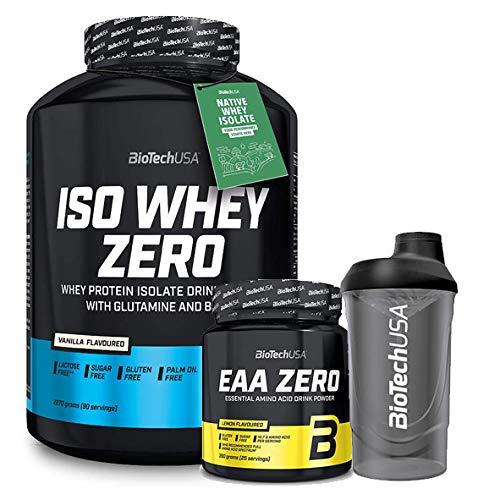 Biotech Usa Iso Whey 2kg Fresa + EAA Zero + Batidor