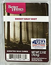 Better Homes and Gardens Smoky Gray Mist Wax Cubes