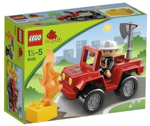 lego duplo 6169 LEGO Duplo 6169 - Il Capo-Pompiere
