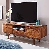 KADIMA DESIGN tv Lowboard Holz Fernsehkommode Massiv Landhaus Fernsehschrank neu