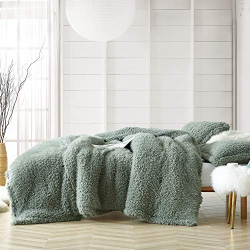 Coma Inducer Oversized Queen Comforter - Yo Dreads - Iceberg Green