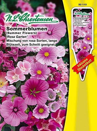 N.L. Chrestensen 50110 Sommerblume Rosa Garten (Sommerblumensamen)
