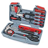 Hi-Spec 39 Piece Home & Office Toolkit Set for Easy DIY & Repairs