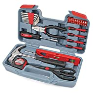 HOME & OFFICE DIY TOOLKIT: The original 39 Piece Household Toolkit, with Over 1 Million Units Sold Worldwide. The Hi-Spec Home & Office DIY Tool Kit Set is a cleverly chosen selection of the most reached for hand tools for fast and easy DIY repair jo...