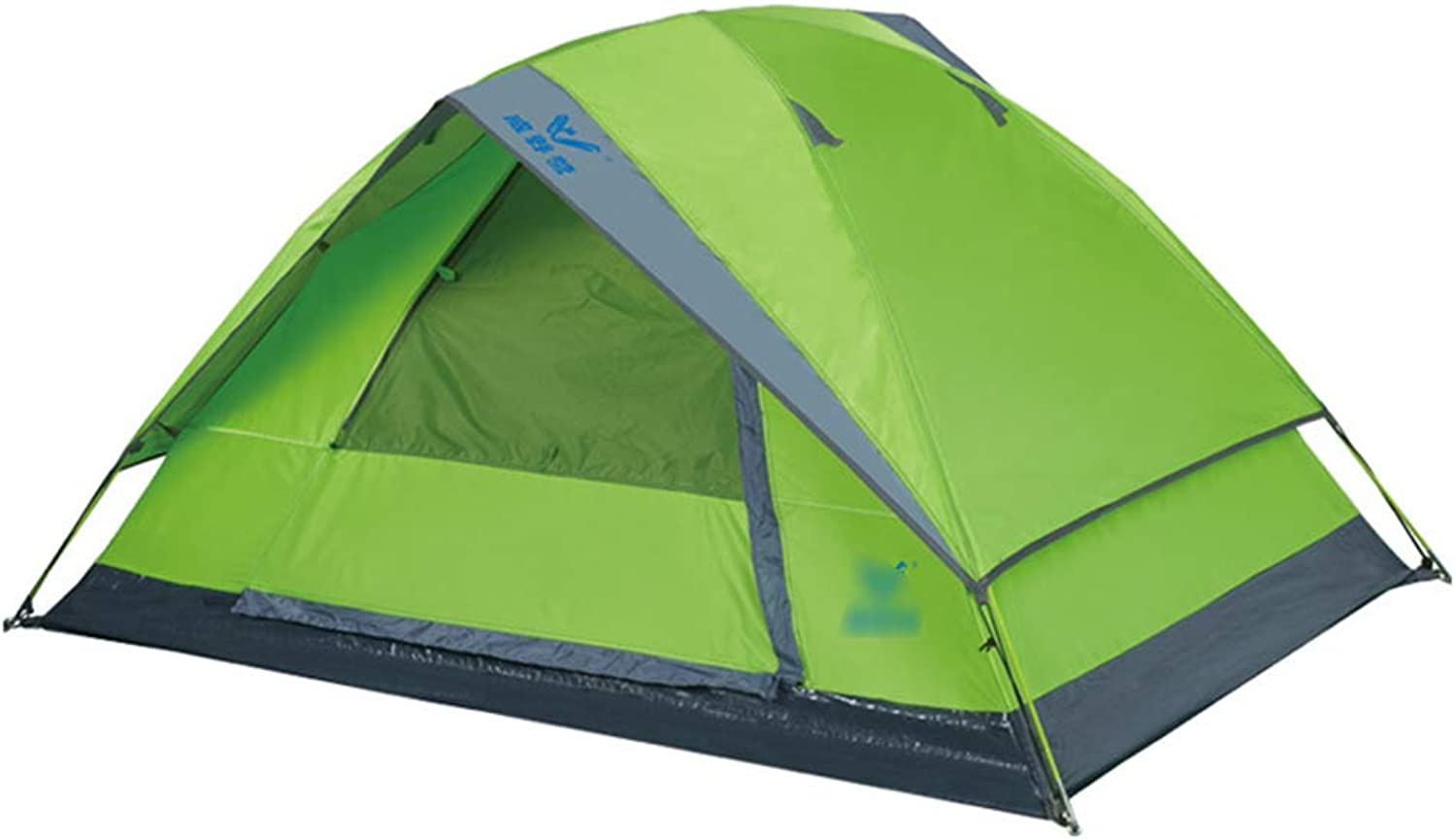 Tents Tents for Camping Coleman Tent Outdoor Tent Double Camping Windproof Rainproof Tent Wild Light Portable Tent (color   Green, Size   200  140  105CM)
