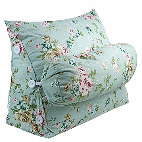 Almohada triangular,Cojin cuña Soporte lumbar nórdico para el cojín de la cabecera de la oficina almohada triangular del respaldo de la cama para la cama del sofá almohada de la almohada de la cama Al
