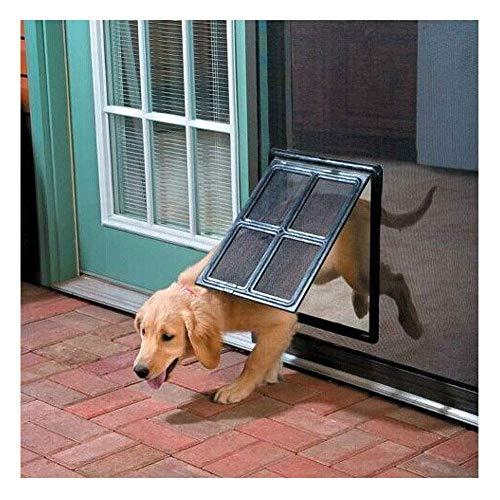 Kattenluik Dog Door extreme weersomstandigheden Pet Deur Medium, Easy Install, Isolerende, Weer Proof, energie-efficiënte, for Flyscreen Deur for Medium grote honden Katten 8bayfa