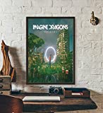 SYKKYS Imagine Dragons Rockband Musikalbum Poster Drucke