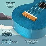 Immagine 2 kahiko ukulele c corpo blu