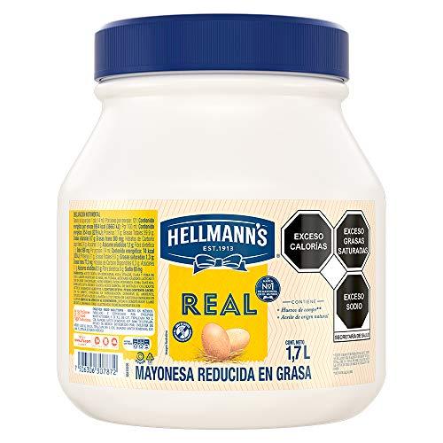 HELLMANN'S Mayonesa Real 1.7L FOOD SOLUTIONS UNILEVER