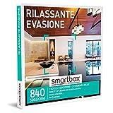 smartbox - Cofanetto Regalo - Rilassante evasione - Idee Regalo - 1 Notte con Colazione e Pausa Relax per 2 Persone