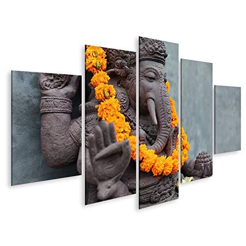 Cuadro Cuadros Ganesha con máscaras Barong balinesas