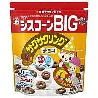 日清シスコ シスコーンBIG サクサクリングチョコ 150g×6袋入×(2ケース)