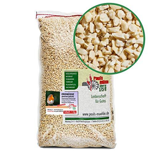 Paul´s Mühle Erdnüsse für Vögel, Erdnusskerne gehackt, 5 kg