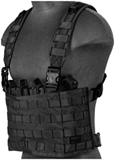 Lancer Tactical Airsoft Lightweight Magazine Pouch Chest Rig