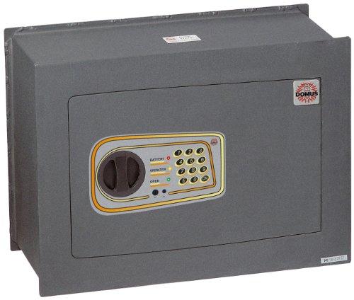 Domus DL/5 Cassaforte a Muro, Serratura Elettronica, Grigio Scuro