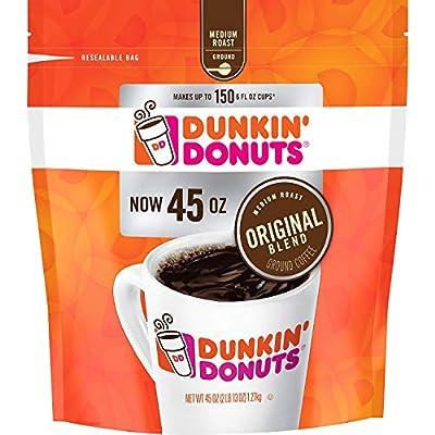 Dunkin' Donuts Ground Coffee, Original Blend Medium Roast, 90 Ounce