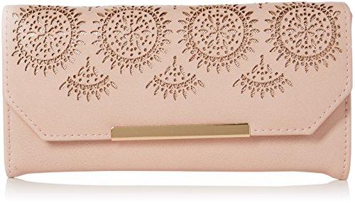 New Look - Portafoglio da donna, taglio laser, taglia unica, colore: Rosa