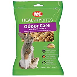 M&C Treat Ums Odour Care For Small Animals 30g