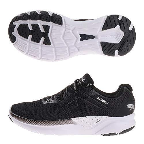 Karhu Fusion Ortix - Zapatillas de correr para hombre, color negro y plateado, color, talla 45 EU