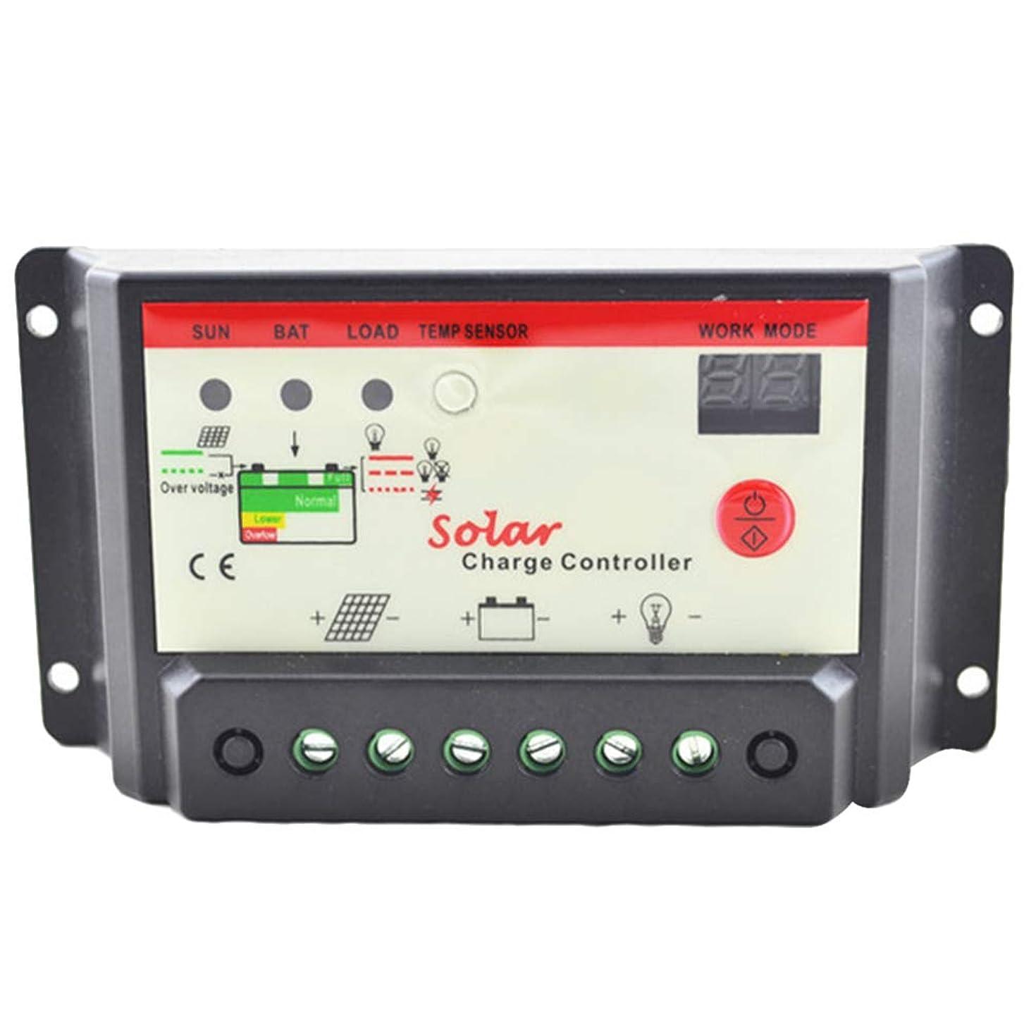 相談代わりにお世話になったGarneck ソーラーパネル充電コントローラーLEDスクリーンソーラーレギュレータコントローラーソーラージェネレーター(屋外用)(20A黒)