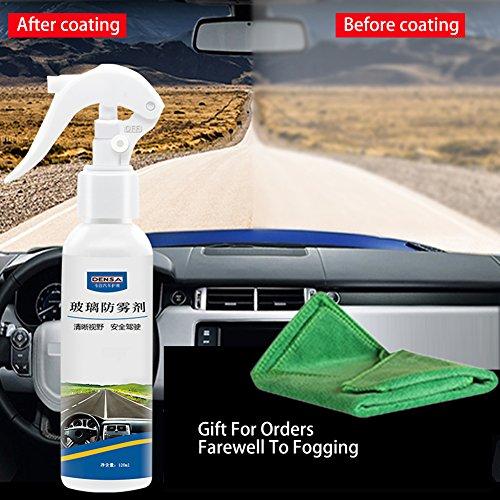 flower 205 Agent anti-buée durable de verre de fenêtre avant d'automobile