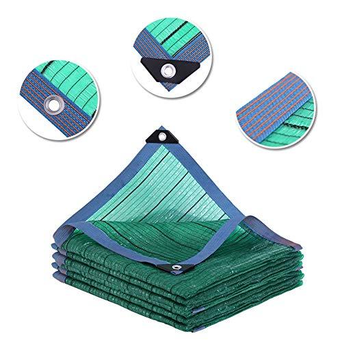 LXHONG-Filet De Camouflage Taux D'ombre 95% Coupe-Vent Pliable Résistance Au Déchirement Terrasse Polyéthylène Carport, 24 Tailles (Color : Green, Size : 4x10m)