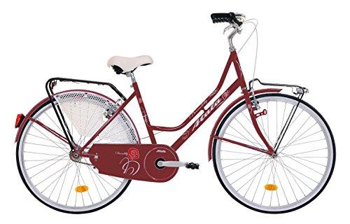 Atala Bicicletta citybike Tipo Holland, Modello Piccadilly, Colore Amaranto, Telaio 26', Misura 46...