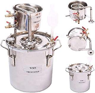 12L Kit de destilación de para el hogar destilador de acero