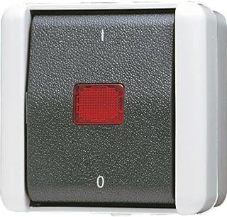 Jung AP Schalter 802KOW 2polig, 250 V