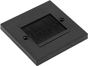 BigBig Style Stof Preventie Borstel Kabel Wandplaat Poort Insert Cover Outlet Mount Panel Accessoire