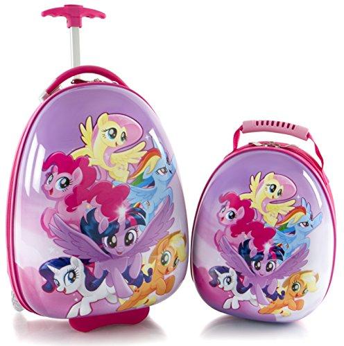 Heys America My Little Pony Kids 2 Pc Luggage Set -18' Carry On Luggage & 12' Backpack