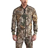 Carhartt Men's 102224 Base Force Extremes Cold Weather Camo Quarter Zi - Large - Realtree Xtra