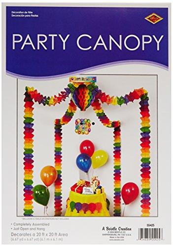 Beistle 55425 Happy Birthday Party Canopy