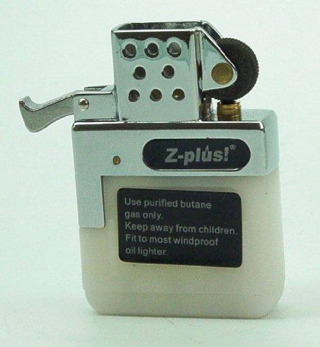 Gaseinsatz für Benzinfeuerzeug Z-PLUS Reibrad NORMAL-FLAMME