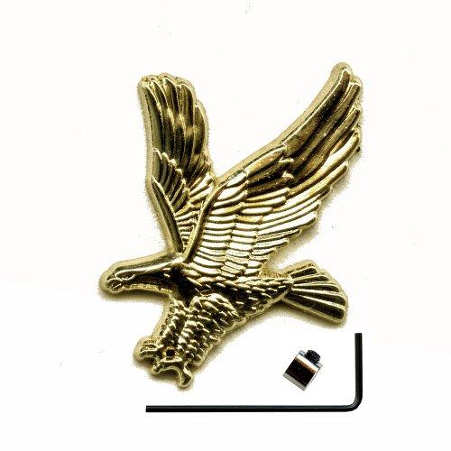Adler Eagle inkl.Sicherheitsverschluss Metall Button 3D Pin Pins Anstecker 478