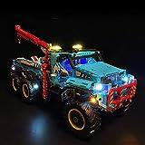 KCGNBQING Nlne Light Set para Bloques de construcción Modelo - Kit de luz LED Compatible con Lego 42070, NO Incluido el Modelo Montaje de Rompecabezas