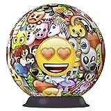 Ravensburger- Puzzle Ball 3D 72 Piezas, Emoji (12198)
